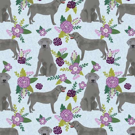 silver lab dog fabric - silver labrador, labrador fabric