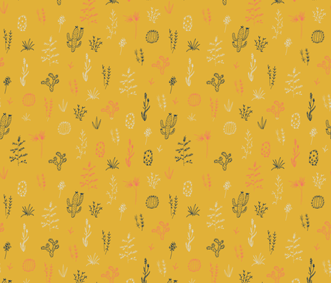 Prickly Meadow fabric by shelbyallison on Spoonflower - custom fabric