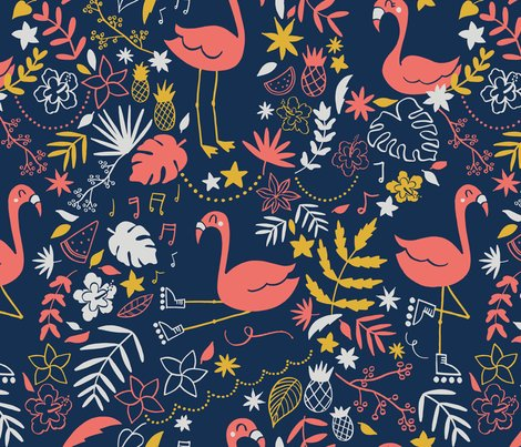 Rflamingos_pattern-02_coral_150_18x18_shop_preview