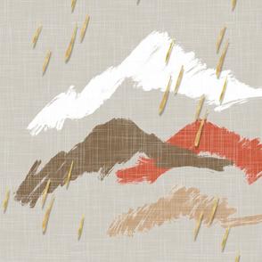 "Desert Rain is ""Gold"" | Half-Drop Repeat"