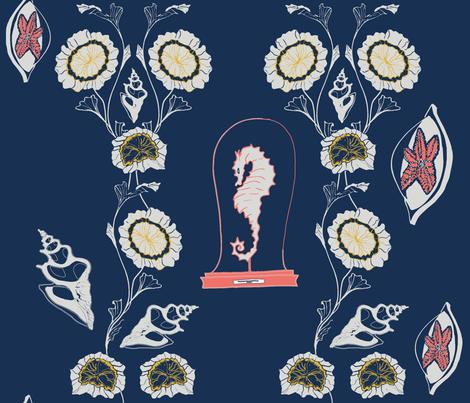 flower fabric by missbingley on Spoonflower - custom fabric