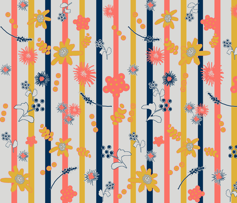 limited-palette-January-5 fabric by florodoro on Spoonflower - custom fabric