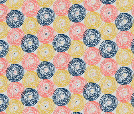 Ball fabric by pond_ripple on Spoonflower - custom fabric