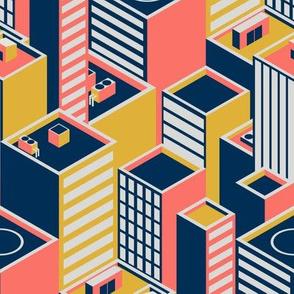 Geometric Coral City