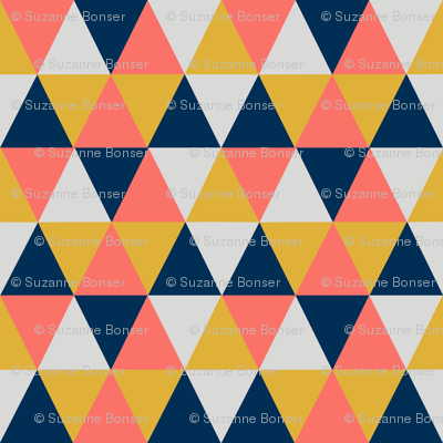 Triangle- limited palette-12in..