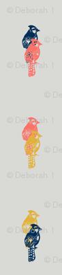 limited palette birds
