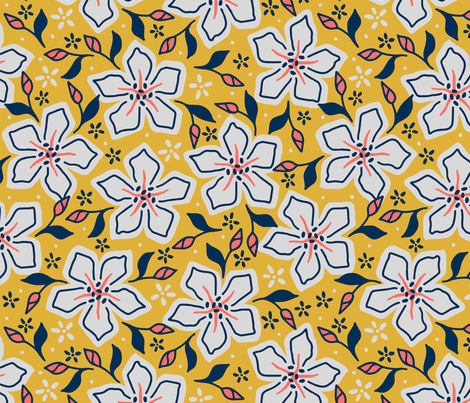 Periwinkle  Variation fabric by mooniocreations on Spoonflower - custom fabric
