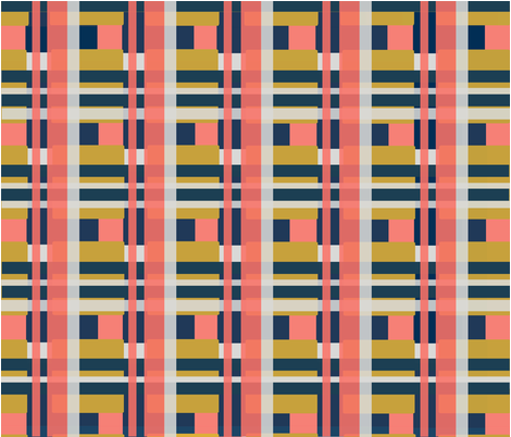 limited  color palette design challenge spoonflower fabric by cran_prints on Spoonflower - custom fabric