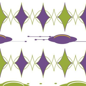 1051_Space_Triangle _ Space Ships_White Background_repeat pattern_ trimmed_1 block.fw