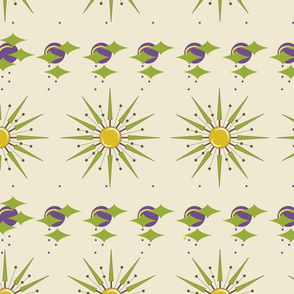 1052_Space_Angles _ Starburst_Sweet Corn background_repeat pattern_trimmed_ 1 Block.fw