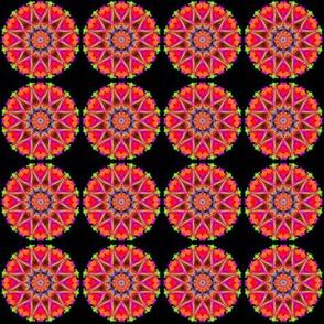 pink mini mandala
