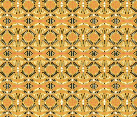 limited-palette-2019 fabric by mandakay on Spoonflower - custom fabric