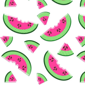 PINK WATERMELON SLICES GROUPED