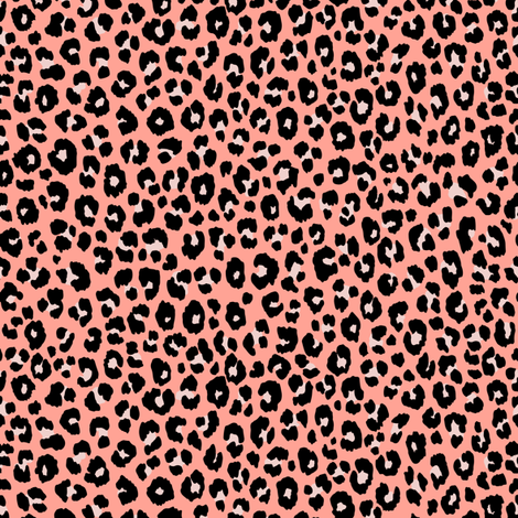 Blush Leopard - small fabric by kimsa on Spoonflower - custom fabric