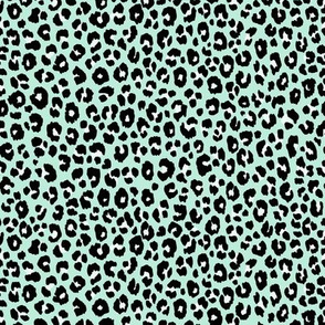 Mint Leopard - small