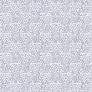 geometric arrow linen light small