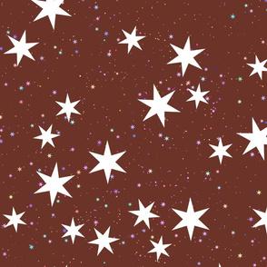 big starry skies - rust
