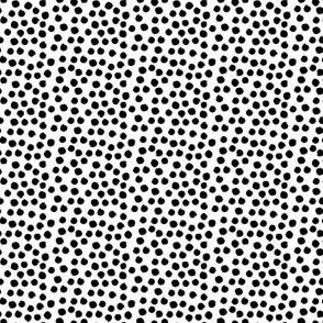 "8"" Black Dots"