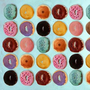 Donuts Tea Towel
