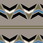 Striped Arrow - army