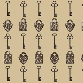 Unlock / old keys & locks