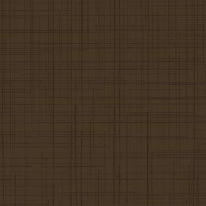 19-02U Dark Chocolate Brown Linen Solid _ Miss Chiff Designs