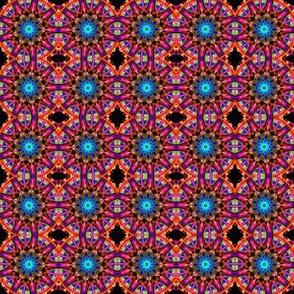 Blue drop mandala