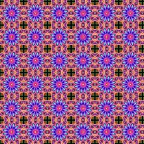 Mandala with Copic cross