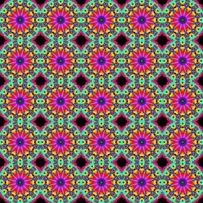 Pincushion mandala