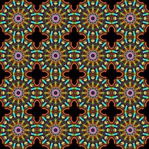 Quadrefoil with mandala