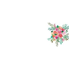 Happy Bouquet Tea Towel Single