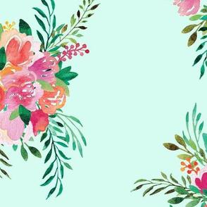 Happy Bouquet in Mint