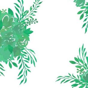 Happy Bouquet in Jade