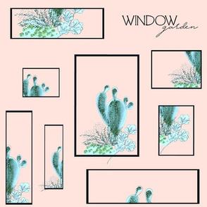 WINDOW GARDEN DUSK