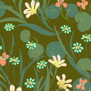 Nasturtium Graden Green