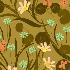 Nasturtium Garden Gold