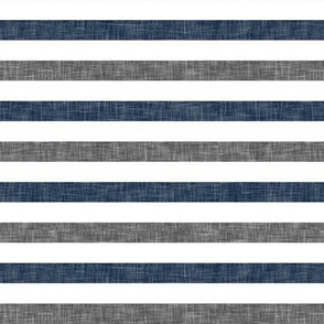 navy and grey stripes  C19BS