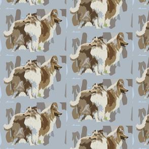 shelties cutout