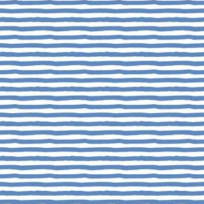 "4"" Blue and White Stripes"