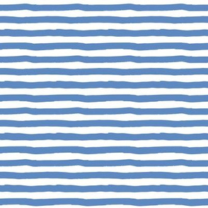 "8"" Blue and White Stripes"