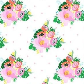 "4"" Calypso Flowers Pink"