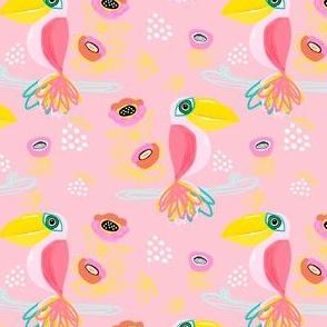 "4"" Calypso Toucan Pink"