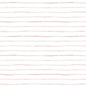 wobbly thin stripe-blush pink_M