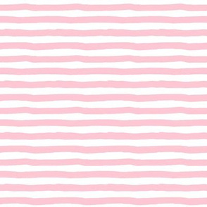 "8"" Pink and White Stripes"