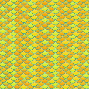 fish scales  lemon