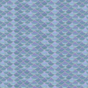 fish scales lilac pearl