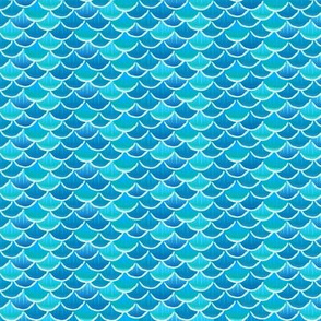 fish scales  sky