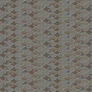 fish scales  stone