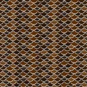 fish scales brown