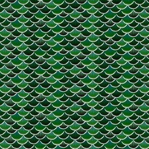 fish scales green